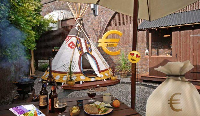 Airbnb'de Ev Sahipliği Yapan Adam Bahçesindeki Lüks Çadırla Para Kazanıyor!