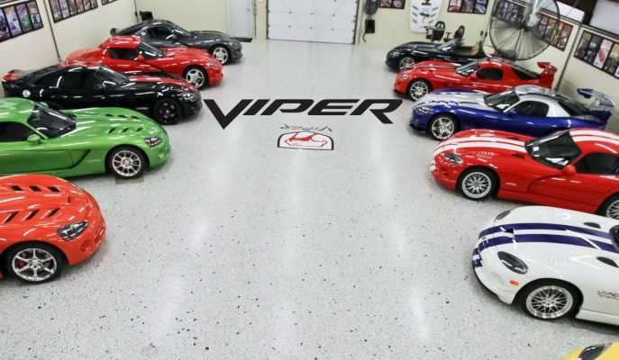 Dünyanın En Büyük Viper Koleksiyonuna Sahip Amerikalı Çiftin Garajı!