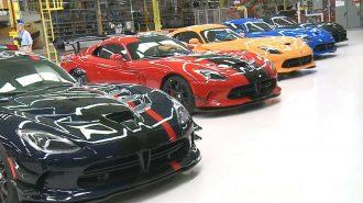 Amerikan Seri Üretim En Hızlı Otomobil Dodge Viper Dünyaya Hoşçakal Diyor!