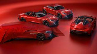 Aston Martin Vanquish Zagato Ailesine Şaşırtıcı İki Üye Daha Kattı!