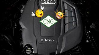 Audi'nin Benzinli A4 ve A5 Modelleri Artık G-Tron Motorla CNG Yakıtına Geçiyor!