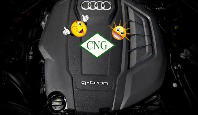Audi\'nin Benzinli A4 ve A5 Modelleri Artık G-Tron Motorla CNG Yakıtına Geçiyor!
