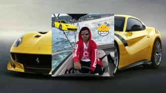 Dubaili Instagram Fenomeni 200.000 Euroluk Ferrari'sini Kullanamıyor!