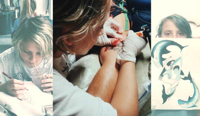Dünyanın En Küçük Dövme Sanatçısı Ezrah'ın Tutku Dolu Hikayesi!