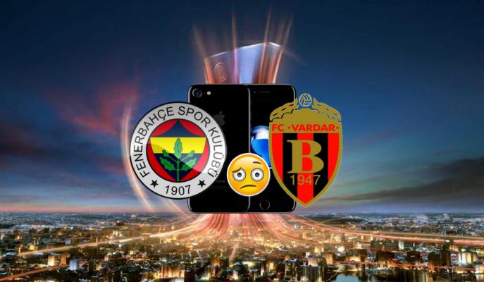 Fenerbahçe'yi Eleyen Vardarlı Futbolculara Zafer Primi: iPhone 7!
