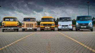 Ford Transit Fotoğrafları: İlk Üretimden Son Modele Kadar Tarihsel Liste!