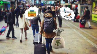Gezerken Para Biriktiren Seyahat Bloggerı