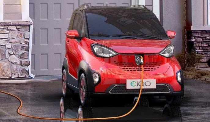 """GM """"Smart"""" Görünümlü Ucuz Çin'li Baojun E100'ün Üretimine Başladı!"""