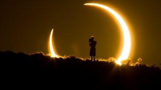 Güneş Tutulması Anında Amerika'da Ortaya Çıkan Muhteşem Görüntüler