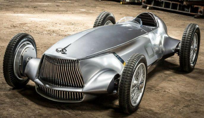 """Infiniti 1940'ların GP Yarış Arabasını Tekrar Hayata Geçirdi: """"Prototype 9"""""""