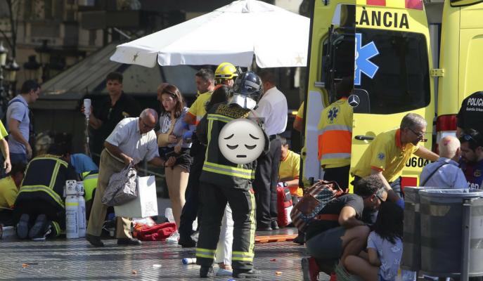 İspanya'da Terör Korkunç Yüzünü Gösterdi! 13 Kişi Hayatını Kaybetti!
