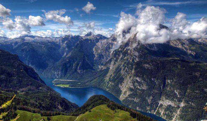 Bir Kartalın Gözünden Alplerin Muhteşem Doğasına Ait Görüntüler