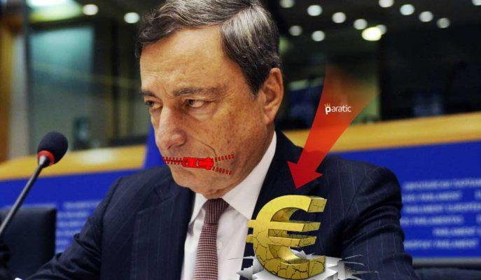 Mario Draghi Konuşmayacak Dendi, Euro Düşüşe Geçti!