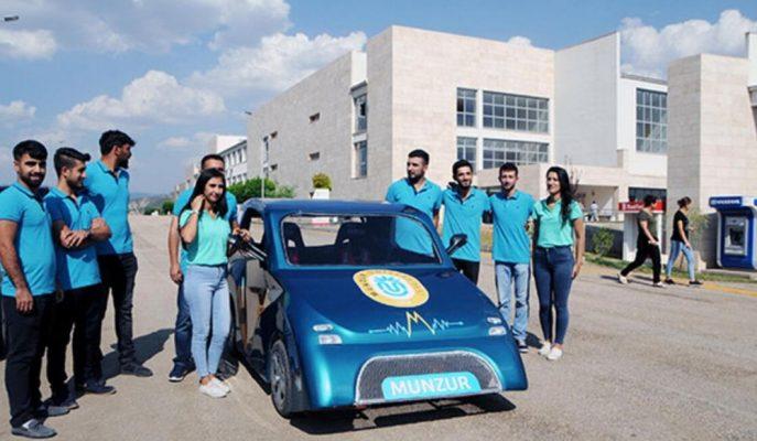 Munzur Üniversitesi Öğrencilerinin Geliştirdiği Elektrikli Arabanın Verileri Oldukça Şaşırtıcı!