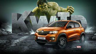 Renault'un Kwid Modeli için Yaptığı Hulk'lu Harika Reklam Filmi!