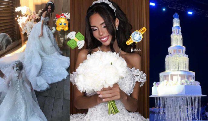 Rus Milyarder ile Milyon Dolarlık Nişan Yüzüğü Taktığı Modelin Düğünü!