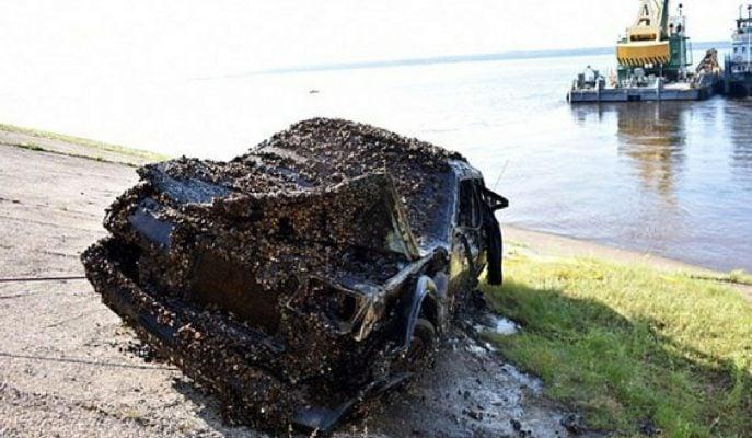 Rusya'da 12 Sene Önce Kaybolan Çift Volga Nehrin'den Çıkarıldı!