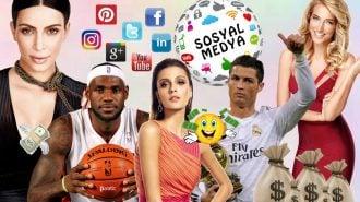 Sosyal Medyada Yaptıkları Paylaşımlardan Dudak Uçuklatan Paralar Kazanan 40 Ünlü İsim