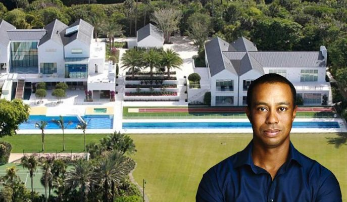Tiger Woods'un 60 Milyon Dolar Değerindeki Ultra Lüks Evinden Görüntüler