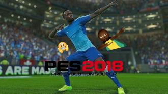 Bolt ve Beckham Lisanslı PES 2018 Gümbür Gümbür Geliyor!