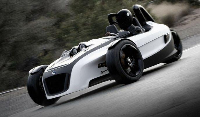 VW GX3 Konseptle 3 Teker Motosiklet Dünyasına Adım Atıyor!