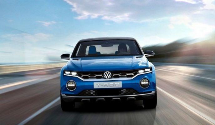 """VW'nin Mini 4X4 SUV'u """"T-Roc"""" Eylül'de Frankfurt Fuarı'nda!"""