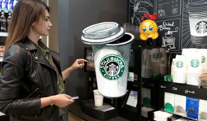 """Yolda Kahve Keyfi: Baristasız Starbucks """"On The Go"""" Artık Türkiye'de!"""