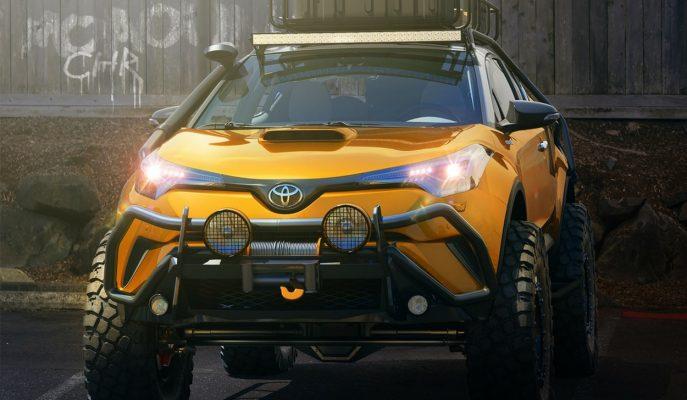 """2017 Yeni Toyota C-HR Tonka Dizayn: """"Crossover'ların Off Road Tanrısı"""""""
