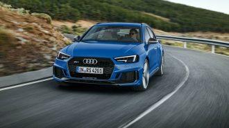 2018 Yeni Audi RS4 Avant: Quattro'nun 4. Elemanı 450 Hp ile İş Başında!