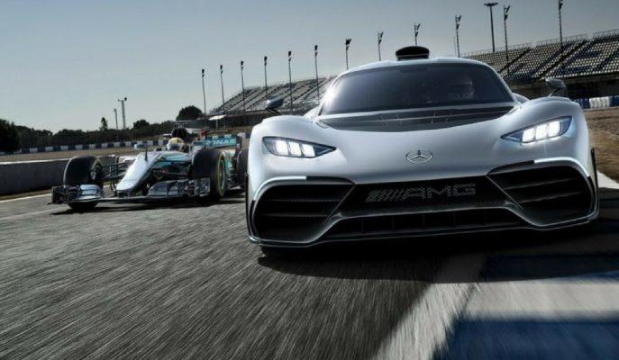 2018 Yeni Mercedes-AMG Project One: Formula Motorlu Yasal Sokak Arabasıyla Tanışın!