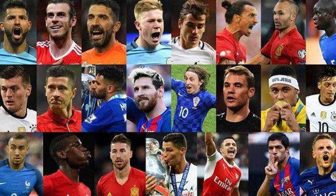 238 Futbolcunun İsmi Kullanılarak Yapılmış Muhteşem Shape Of You Uyarlaması