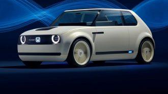 Honda'nın Urban EV Konsepti VW Golf MK1'i Yeniden Canlandırdı!