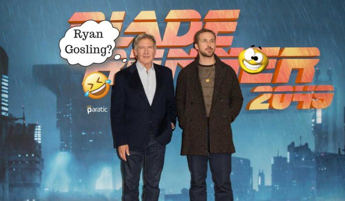 Bıçak Sırtı 2049 Oyuncuları Harrison Ford ile Ryan Gosling'in Komik Anları