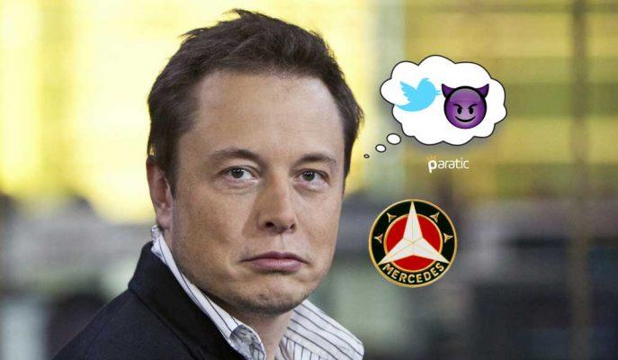 Elon Musk'ın Tweeti Mercedes'e 10 Milyar Dolarlık Yatırım Kararı Aldırabilir mi?