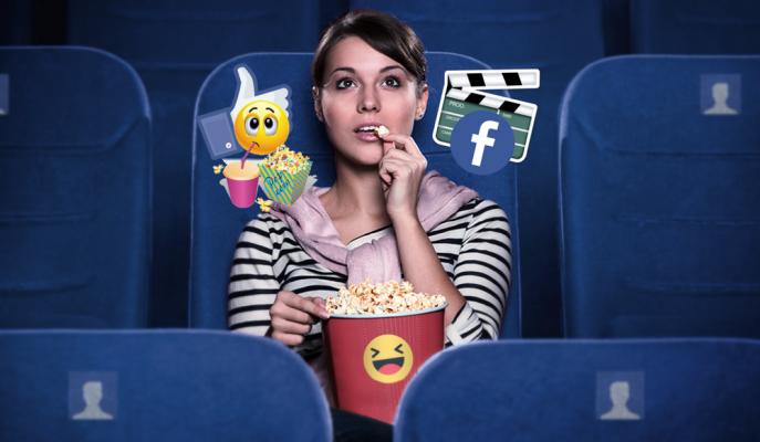 Facebook Yeni Movies Özelliğinin Testlerine Başladı!