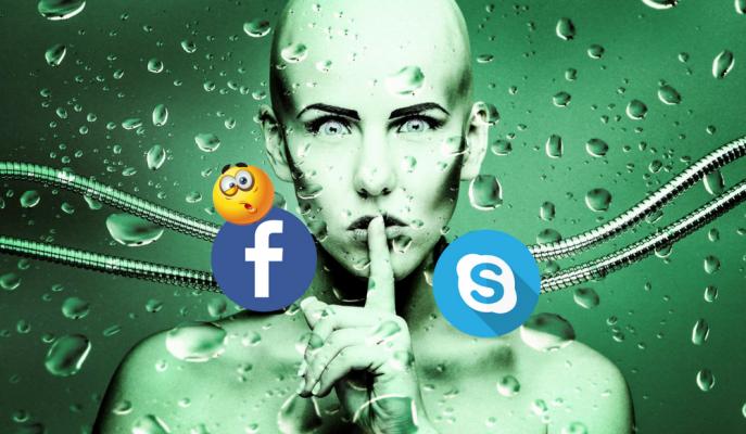 Facebook'un Yapay Zekası Skype ile İnsanlığı İzliyor!