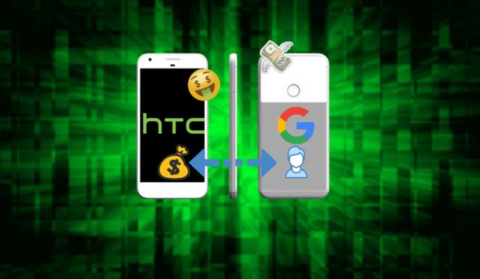 Google 1.1 Milyar Dolara HTC Pixel Ekibini Satın Aldı!