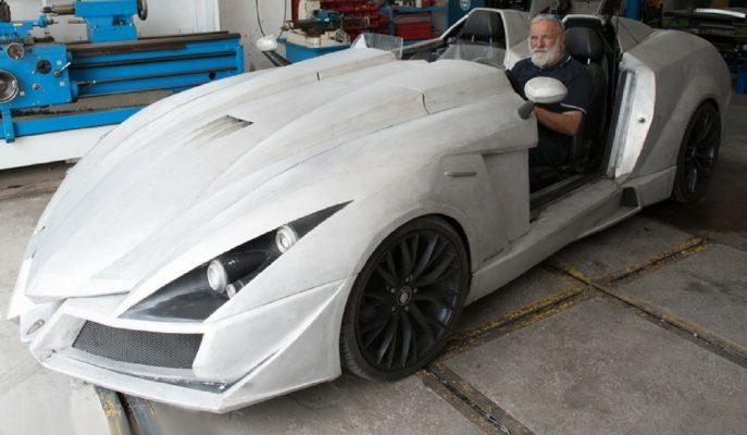 İtalyan Teknik Direktörün Sıfırdan Kendi Tasarladığı Akıl Almaz Spor Arabalar!