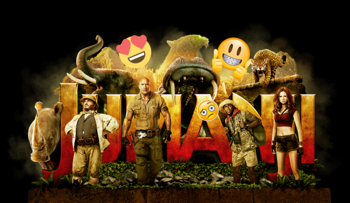 Jumanji Efsanesi Dwayne Johnson'lı Vahşi Orman ile Yeniden Diriliyor!