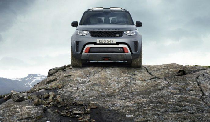 Land Rover Jaguar SVO ile Discovery 5'i SVX'e Dönüştürdü!