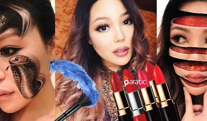 Makyaj Sanatçısı Mimi Choi İlginç Çalışmalarıyla Sosyal Medyayı Sallıyor!