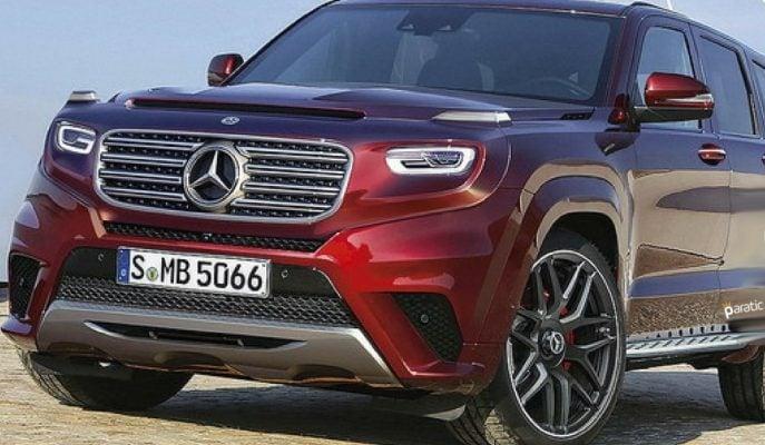 """Mercedes 2020 Yılı için """"GLG"""" Adında SUV Serisi mi Çıkartacak?"""