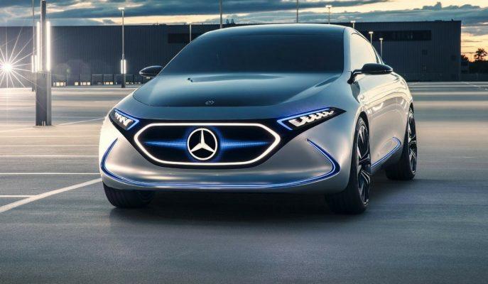 "Mercedes-Benz'in Elektrikli ""EQ A Konsepti"" Frankfurt Fuarı'nda Tanıtıldı!"