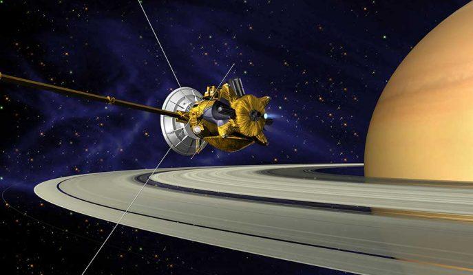 Satürn Keşif Aracı Cassini Görevini Sonlandırdı