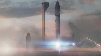 SpaceX'in Mars'a İnsan Kolonisi Taşımak için Yaptığı Planlanın Görüntüleri