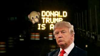 Trafik Tabelalarını Hackleyerek Trump'a Küfrettiler!