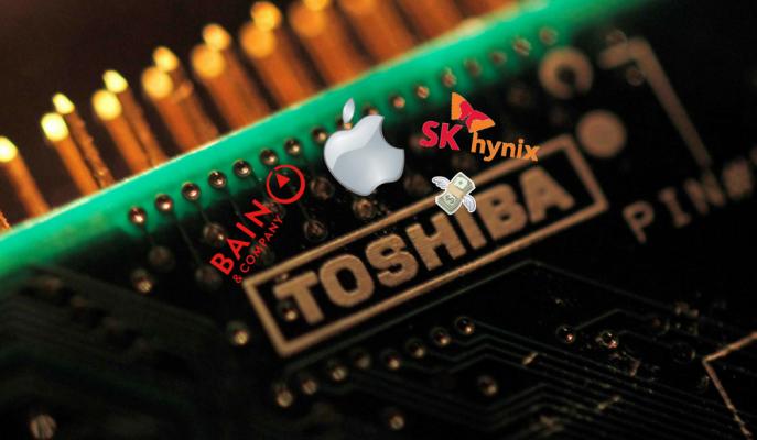 Toshiba'nın En Değerli Bölümü 18 Milyar Dolara Satıldı!