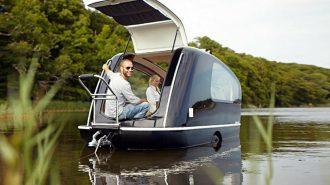 Ultimate Glamping: Tekne Gibi Yüzebilen İnanılmaz Karavan!