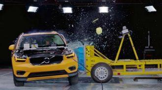 Volvo XC40'ın Kapsamlı ilk Kaza ve Güvenlik Testi Yapıldı!