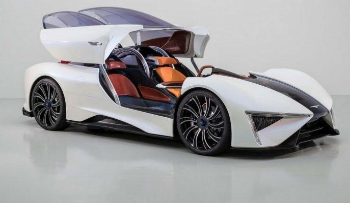 2018 Techrules Ren Geleceğin Elektrikli Hiper Araba Profilini Belirleyecek!